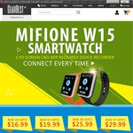 Smart Watch Mifone W15 US $16.99 (~ NZ $26) Shipped @ Gearbest
