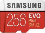 Samsung EVO Plus MicroSDXC 256GB with Adapter for AU $43.90 (~NZ $51) Delivered @ Amazon AU
