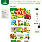 Countdown - One Day Sale: Meadow Fresh 1kg Yoghurt $3, White Button Mushrooms $7/kg + More