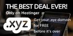 Free .xyz domain @ Hostinger UK