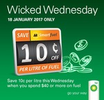 Save 10c/Litre on Fuel at BP (Min Spend $40) @ AA Smartfuel (18 Jan)