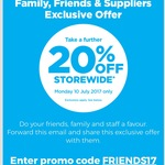 Further 20% Off Storewide @ Warehouse Stationery (Monday 10 July Only)