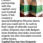 Win 1 of 2 Emporio Coffee Prize Packs from The Dominion Post
