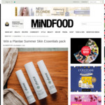 Win a Plantae Summer Skin Essentials Pack (Worth $252.50) from Mindfood