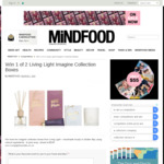 Win 1 of 2 Living Light Imagine Collection Boxes from Mindfood