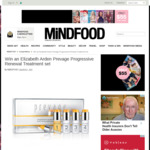Win an Elizabeth Arden Prevage Progressive Renewal Treatment Set (Worth $299) from Mindfood