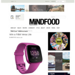 Win a Fitbit Versa Lite (Worth $269.95) from Mindfood