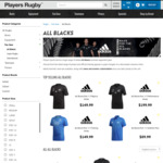 15% off The New All Blacks RWC Jersey REVEALED* Designed by Y-3 and Inspired by Maori Culture @ Player Sports