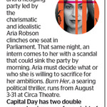 Win 1 of 2 Double Passes to Burn Her from The Dominion Post (Wellington)