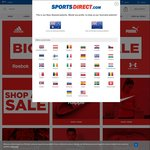 Sports Direct Free Shipping to NZ Via App (Min Spend $22 NZD)