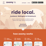 25% Zoomy Taxi Fares for 30 days
