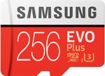 Samsung 256GB Evo Plus U3 Micro SD Card - US $85.99 (~NZ $125) Delivered @ Joybuy