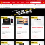 $10 off $100 Spend on Clearance Products @ Noel Leeming