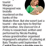 Win a Double Pass to She Danced on A Friday from The Dominion Post (Wellington)