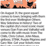 Win a Double Pass to Wellington Others Way Sideshow from The Dominion Post