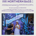 Win a 3 Day Ticket to Northern Bass Including VIP, Glamping etc. from BurgerFuel