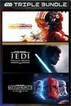[XB1, XBS] Flash Sale - Star Wars Triple Bundle (Squadrons, Battlefront 2, Jedi Fallen Order) $59.98 @ Microsoft Store NZ