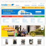 Free Selling 13th March for All General Items and Cars @ Trade Me