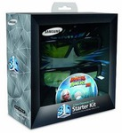 Heathcotes - Samsung 3D Glasses Starter Kit (SSGP2100T) - $24 Delivered