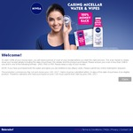 100% Cashback on Any NIVEA Micellar Products (1 Per Person)