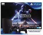 PS4 Slimline 1TB + Star Wars Battlefront II + Extra Dual Controller + Headset + Lego Awakens $463.30  Delivered @ The Warehouse