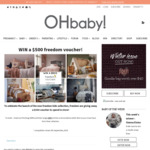Win a $500 Freedom Voucher from Oh Baby
