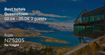 Queenstown (Easter): 3 nts in Swiss-Belresort $252 (was $419), Sherwood $398(ws $633) Qtn Park Boutique $758 (ws $1117) @ BTF