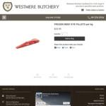 Frozen Eye Fillet $19.95/kg + Delivery @ Westmere Butchery