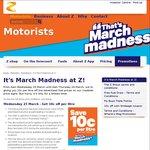 10c/Litre off Fuel @ Z Energy (6am 23/03 Weds - 6am 24/03 Thurs)