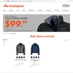 Halo Down Jacket for $99.99 + $5 Shipping @ Macpac (RRP $279.95)