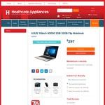ASUS 11.6 Inch Flip Notebook - $297 @ Heathcote Appliances.