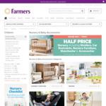 Half Price Farmers Nursery Sale