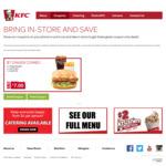 KFC Zinger Combo $7