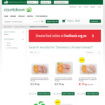 Boneless Chicken Breast - $7.99/kg @ Countdown