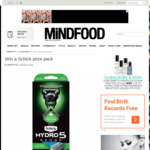 Win a Schick Hydro 5 Sense for Men + $200 Repco Voucher from Mindfood