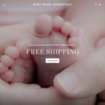 30% Off Your First Order + Free Shipping @ BabyBumpEssentials