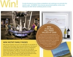 Win MOTAT Family Passes, Sacred Hill Print, Johnson's Baby Bath Pack, or Quintessential New Zealand from Rural Living