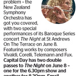 Win 1 of 2 Double Passes to The Night from The Dominion Post (Wellington)