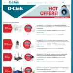 2 x D-Link Powerline DHP-309AV for $117 via Cashback Promotion