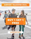 2 for 1 Airport Transfers ($20 Min Spend) at Klook