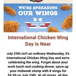 8 Chicken Wings for $4.99 (Wednesday Only) @ Texas Chicken