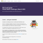 Complete One Challenge and Earn a Free Microsoft Certification Exam @ Microsoft Ignite