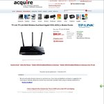 TP-Link N600 Wireless Modem Router $104.55 @ Acquire