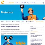 Triple Airpoints This Weekend @ Z