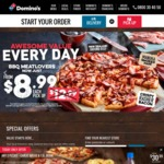 Domino's Henderson 12th Aug 11am-2pm $2 Value / $4 ExtraValue / $6 Traditional
