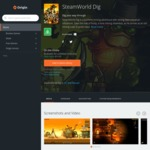FREE [PC] SteamWorld Dig @ Origin