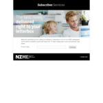 NZ Herald 5 Week Trial - No Credit Card needed