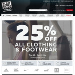 Free Shipping Code (No Minimum Spend) @ Rebel Sport (Must Sign up to Newsletter)