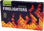 Tiger Tim Natural Firelighters - 32 Pack $1 @ Bunnings
