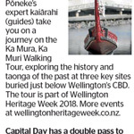 Win a Double Pass to Ka Mura, ka Muri Walking Tour from The Dominion Post (Wellington)